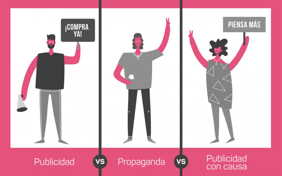 Publicidad social vs propaganda vs comunicación social